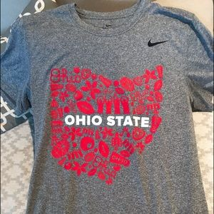 Ohio State dry fit t-shirt